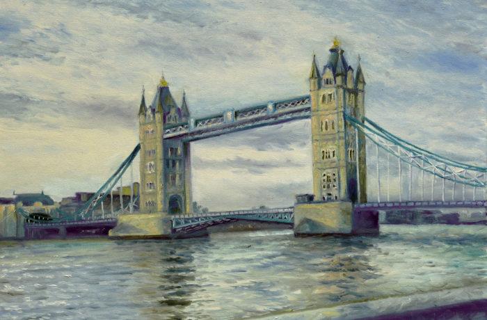 Тауэрский мост.Лондон
